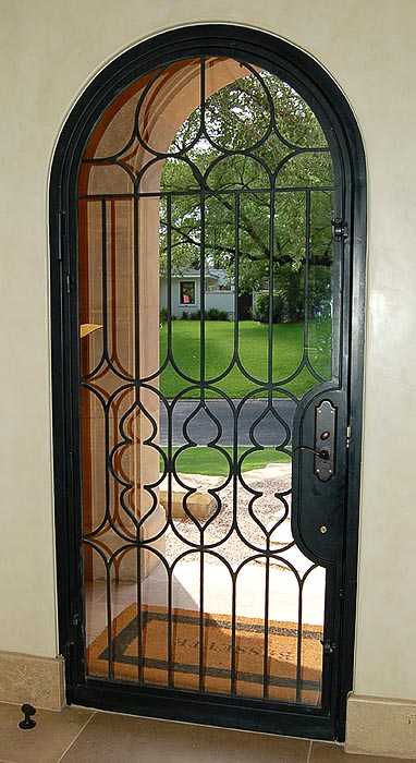 Rehme custom iron work doors for New construction windows online